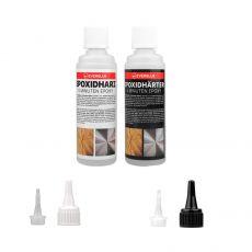 EVERGLUE 5-Minuten-Epoxy 200g • Epoxidharz 100g • Epoxidhärter 100g