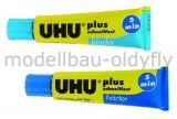 UHU PLUS SCHNELLFEST 2K-Klebstoff auf Epoxidharz-Basis • 35g